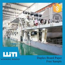 Duplex Board Paper Card board from Fuyang in Rool
