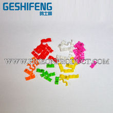 3mm,4mm,4.5mm,5mm New Design Plastic Open / Clip Bird Leg Bands