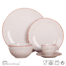 white ceramic dinner set/2012 New Tableware Set with 8oz cup&saucer