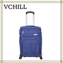 travel bag luggage/upright 600D polyester trolley case set