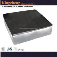 Made from factory wholesale pure aluminum ingot or alloy industry manufacturing