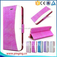 Newest fashion wallet case leather cover for nokia Lumia 5030