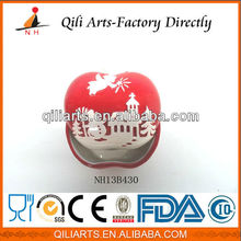 New Design High Quality christmas decorations apple