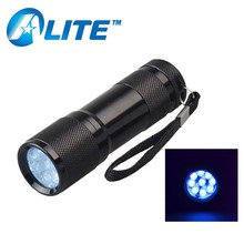Convenient 9LEDs Urine Detector - Find Dry Dog & Cat Stain on Carpet,Rugs & Curtains