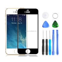 Front Replacement and Tools Glass Touch Lens Screen Protector for iPhone 5 Plus