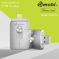 Hot-selling USB stick hard flash drive with App and extra storage for IPhone 6 5 5S IPad IPad Air IPad Mini