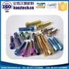 Din912 socket cap orthopedic titanium screw, titanium fasteners