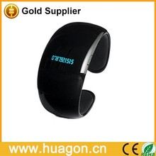 SuperMarket/AD/Shop/Promotion QT09 Bluetooth bracelet watch with speaker for android phones