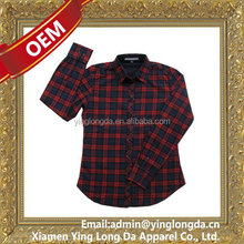 Design crazy Selling long sleeve 100% cotton shirt for women