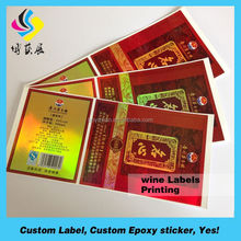 Larger Size Red Bounding Blank Eggshell Label Sticker,High Security Material For Ultra Destructible Vinyl Labels Roll