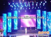 Rental/ Concert/ Stage Background/ Video Wall Transparent LED Curtain Display Screen for Indoor & Outdoor Use