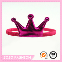 Hot Sale Princess Hair Accessories Hairpin Crown Tiara Plastic Decorate Headband
