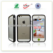TPU rubber bumper for iPhone 5G 5S Mobile Phone Case for iPhone protector