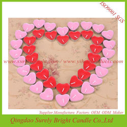 colorful scented lovely story for wedding gift tealight candle