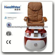 comfort foot spa massage chair for nail salon manicure&pedicure set