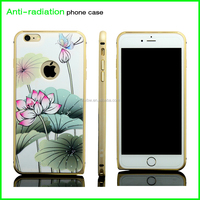 high quality anti-radiation custom printing waterproof aluminium phone cover