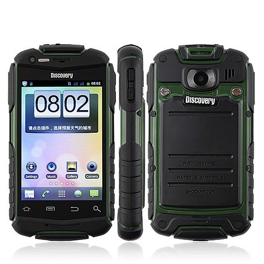Discovery V5+ Shockproof Dual Core Android 4.2.2 MTK6572 1.2Ghz 2 SIM 3G WiFi