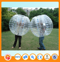bumper ball inflatable ball bubble soccer suits for family and friends gathering