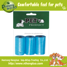 Hot sell pet garbage bags/pet waster bags/high quality bio waste bags