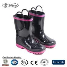 2015 New waterproof cheap girl's PVC rain Boots