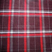 "100% Cotton 20*10 40*42 57/58""Plaid Flannel Fabric"