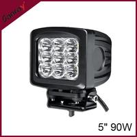 5 inch 90W led work light ATV UTV 4WD 4x4 offroad driving light