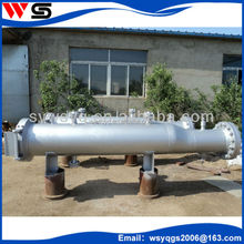 pig trap receiver and launcher machine for cleaning oil pipeline