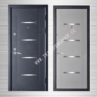 Cheap apartment exterior door steel security door BT-S-57