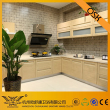 Hot Selling Free Design Solid Wood Kitchen Cabinet
