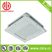 5 years warranty energy saving led canopy light DLC ETL and CE approved apply to gas station and garages