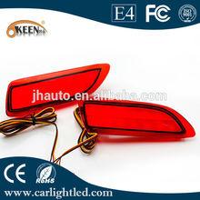12v toyota corolla las piezas del coche, coche rojo led de luz de freno para lexus ct200h, toyota corolla led luz de la cola
