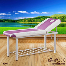 portable wooden spa table / massage table