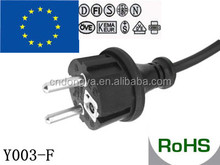VDE approval 16A waterproof power cord for vizio tv walmart