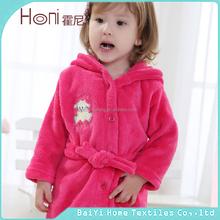 customized European baby bathrobe