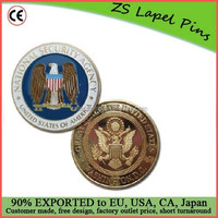 Personalized Design High Quality US National Security Agency Challenge coin