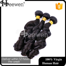 2015 New Products Virgin Hair Loose Wave,Wholesale Price 7a Human Hair Top Quality Virgin Brazilian Loose Wave Hair