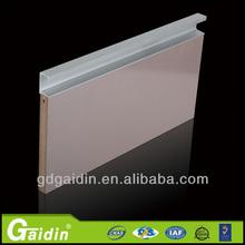 Alta qualidade a mobília de gabinete Porta hardware Borda alça de alumínio