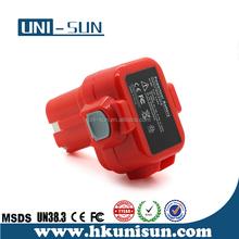 9.6V ni-mh power tool Battery for Mak 6000 Series, 6207D, 6207DWDE, 6990D, 6222D, 6222DE, 6222DWE, 6226D