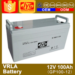 super long life 12v 100ah used car battery