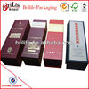 High Quality Red Wine Leather Boxs