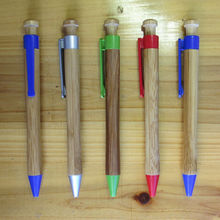 Wholesales Promotional Hot Sale Eco-friendly Popular Bamboo Ball Pen Top Clip Ballpoint Pen Cheaper with Logo Bamboo Pen NN-808