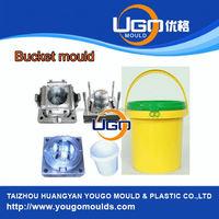 High quality 20 liter plastic paint bucket mould manufacturer