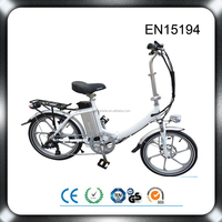 good performance lithium battery 36v 12ah bafang 250w motor electric folding bicycle