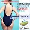 push up padded cup swimwear custom printed hot one piece Bikini