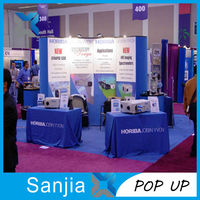 Magnet Type Banner ,Magnetic Pop Up Display Stand for Trade Show