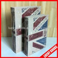 portable printed book safe box