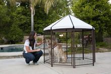 Alibaba supplier wire mesh fencing dog kennel