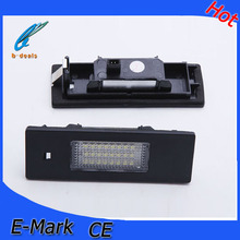 2015 B-deals hot sell led car accessories led license plate light for E87