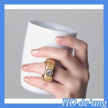 HOGIFT 2015 Fashion Romantic Ceramic Water Cup/Birthday Valentines Day Gifts/Creative Ring Mug Cup