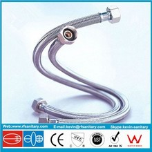 stainless steel braided hose flexible for toilet